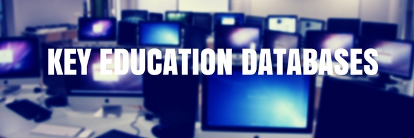 Key Education Databases
