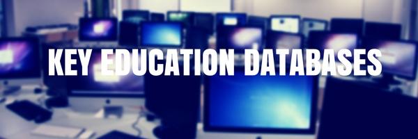 Key Education Databases